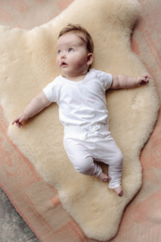 Baby de Luxe: wit T-shirt 'Supermodel'