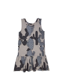 Dear Sophie: Grey cactus dress