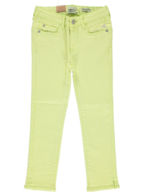 Indian Blue Jeans: Zoe Cropped Skinny Fit - Lime