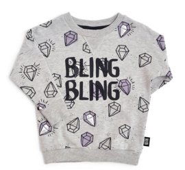 Little Man Happy:  Sweater Bling Bling