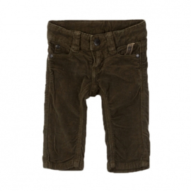 IMPS & ELFS forest green corduroy baby trousers