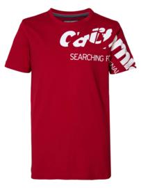Petrol: T-shirt - California/San Diego - rood
