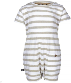 Noeser: Joep summersuit stripe sand