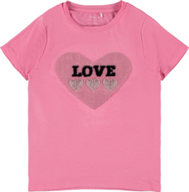 Name It: Meisjes FALBA T-shirt - Roze