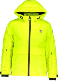 SuperRebel: Ski jacket reflective yellow R909-6281