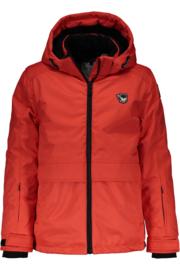 SuperRebel: ski-snowboard jas Neon Red 6283