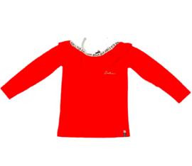 Retourjeans: t-shirt - Daniella  - poppy red