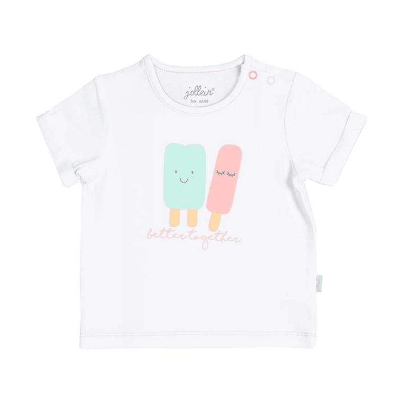 Jollein: t-shirt happy icecream