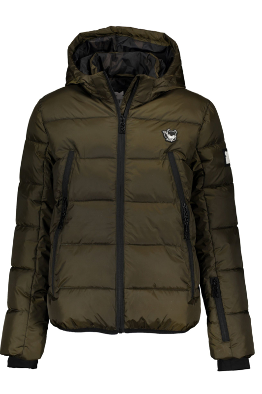 SuperRebel: Winterjas Army Green R909-6284