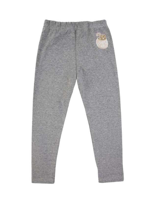 Dear Sophie: Grey Melange Basic Legging