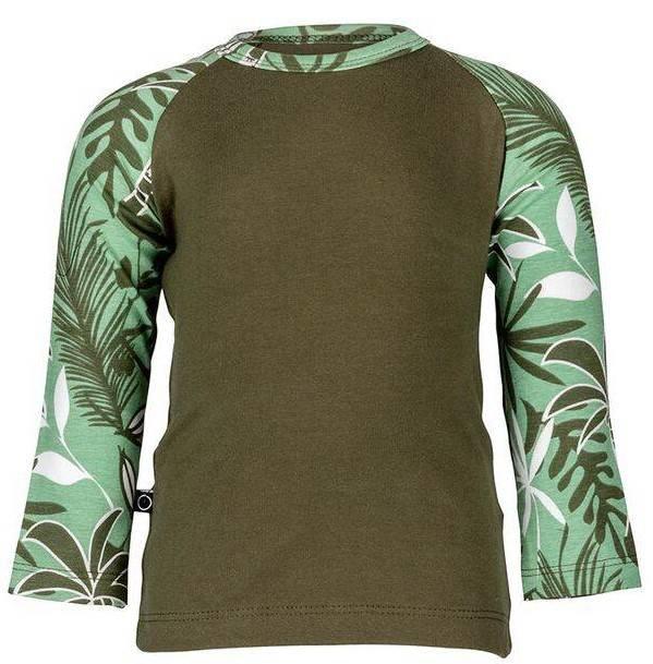 Noeser: Raf raglan jungle woody green