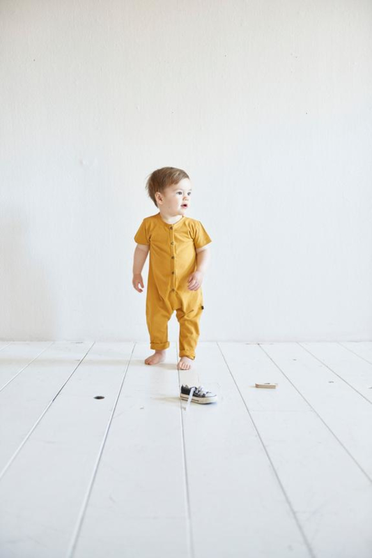 House of Jamie: Laidback Jumpsuit - Honey Mustard