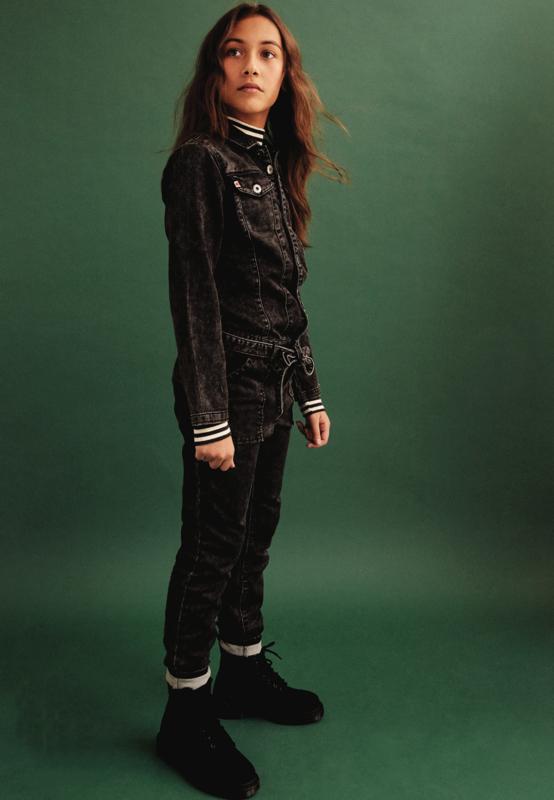 Tumble 'n dry: Jumpsuit Veerle - Denim Black Used