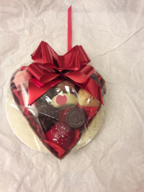 Chocolade hart met bonbon's