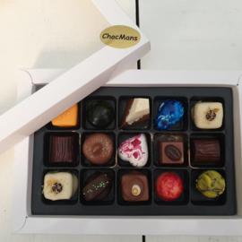 grote 15 vaks luxe geschenk bonbons