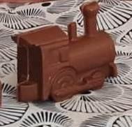 Chocolade locomotief
