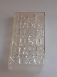"""0005 letters alfabet  """"748S 10c/98"""""""