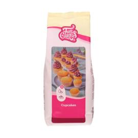 Funcakes mix voor Cupcakes 1 kg