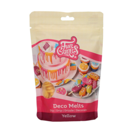 Funcakes Deco Melts Yellow 250 g