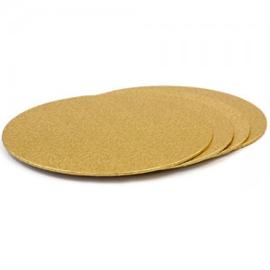 Decora cake board Ø 18 cm goud