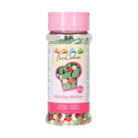 Funcakes sprinkle medley Holiday 65 g