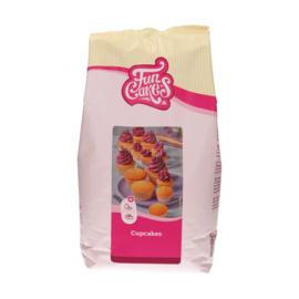Funcakes mix voor Cupcakes 4 kg