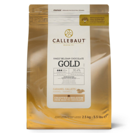 Callebaut Chocolade Callets Gold 2,5 kg