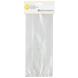 Wilton clear party bags pk/25