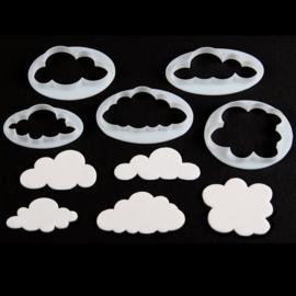 FMM fluffy cloud cutters set/5