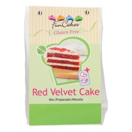 Funcakes mix voor Red Velvet Cake GLUTENVRIJ 400 g