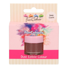 Funcakes edible funcolours dust Deep Claret