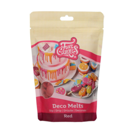 Funcakes Deco Melts Red 250 g