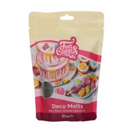 Funcakes Deco Melts Black 250 g