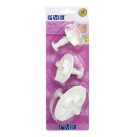 PME pretty butterfly plunger cutter set/3