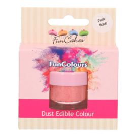 Funcakes edible funcolours dust Pink Rose