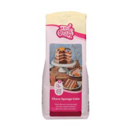 Funcakes mix voor Choco Biscuit 1 kg