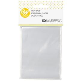 Wilton lollipop bags clear pk/50