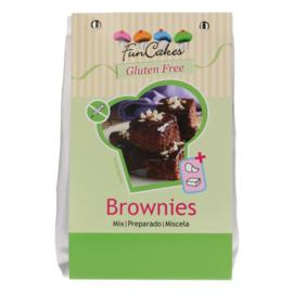 Funcakes mix voor Brownie GLUTENVRIJ 500 g
