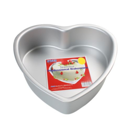 PME deep heart cake pan 15x7,5 cm