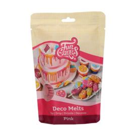 Funcakes Deco Melts Pink 250 g