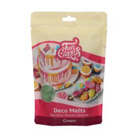 Funcakes Deco Melts Green 250 g