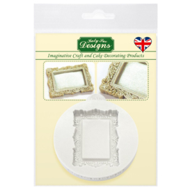 Katy sue mould miniature frames vintage rectangle