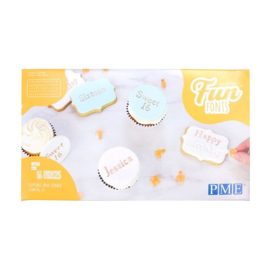 PME Fun Fonts - Cookies & Cupcakes- Collection 2