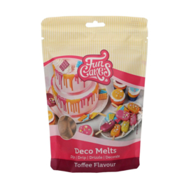 Funcakes Deco Melts Toffee Flavour 250 g