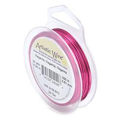 Artistic Wire 24 gauge Magenta (20 yard)