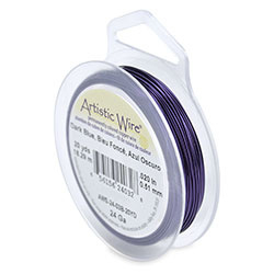 Artistic Wire 24 gauge Dark Blue (20 yard)