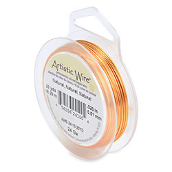 Artistic Wire 24 gauge Natural (20 yard)