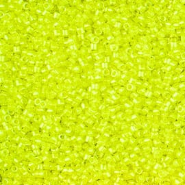 Miyuki delica 11/0 2031 Luminous Lime Aid ( 5 gram)