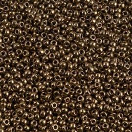 Miyuki rocailles 11/0 0457 Dark Bronze Metallic (10 gram)