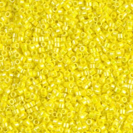 Miyuki delica 11/0 DB0160 Opaque AB Yellow ( 5 gram)